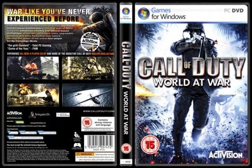 Call of Duty: World at War - Scan PC Cover - English [2008]-call-duty-world-war-picjpg