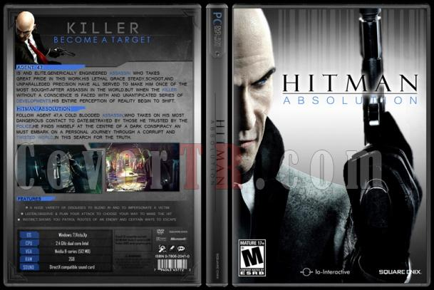 hitman absolution xbox 360 cover