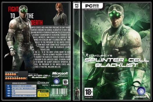 Tom Clancy's Splinter Cell: Blacklist - Custom PC Cover - English [2013]-splinterjpg
