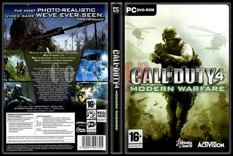Call of Duty 4: Modern Warfare - Scan PC Cover - English [2007]-call-duty-4-modern-warfarejpg