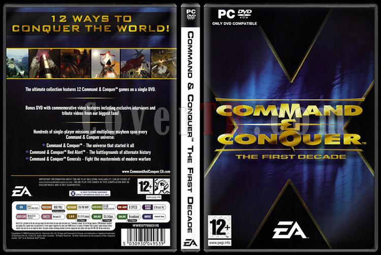 Command & Conquer: The First Decade - Scan PC Cover - English [2006]-command-conquer-first-decadejpg