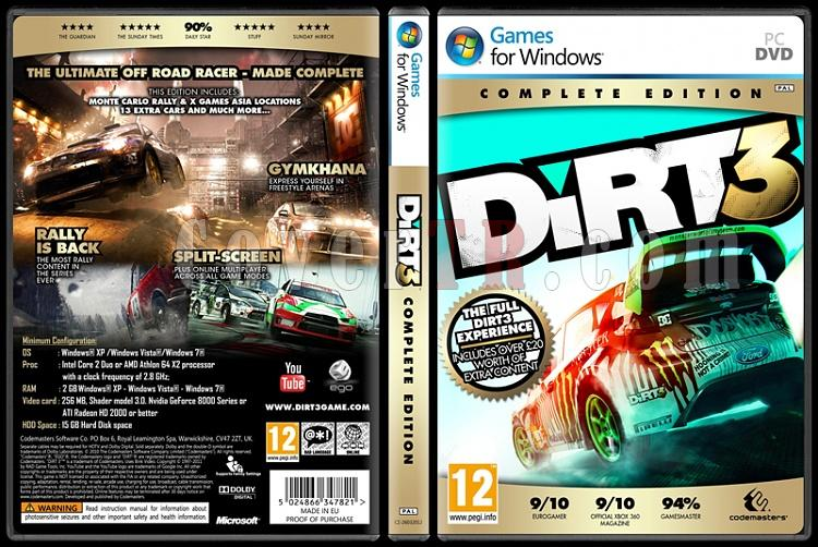 Dirt 3 (Complete Edition) - Custom PC Cover - English [2011]-dirt3-complete-edition-custom-pc-cover-english-2011jpg