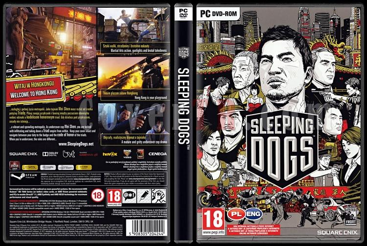 Sleeping Dogs - Scan PC Cover - English/Polish [2012]-sleeping-dogsjpg