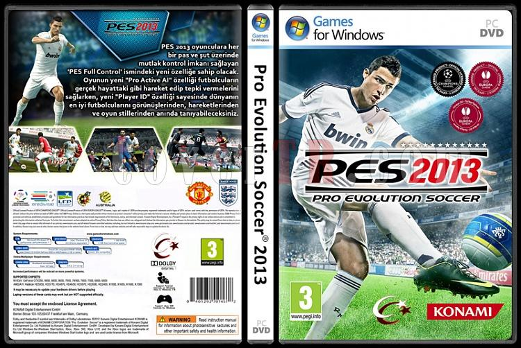 Pro Evolution Soccer 2013 - Custom PC Cover - Türkçe [2012]-pro-evolution-soccer-2013jpg