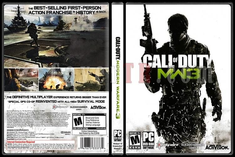 Call of Duty: Modern Warfare 3 - Scan PC Cover - English [2011]-standardjpg