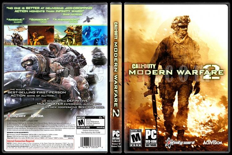Call of Duty: Modern Warfare 2 - Scan PC Cover - English [2009]-call-duty-modern-warfare-2jpg