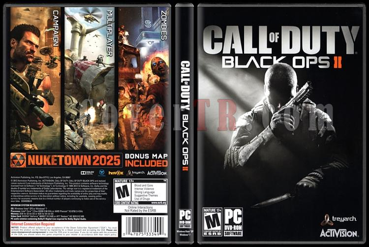 Call of Duty: Black Ops II - Scan PC Cover - English [2012]-standardjpg