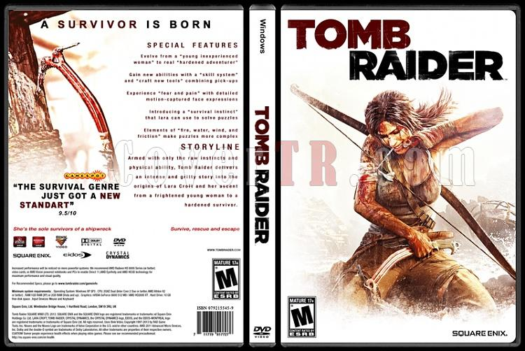 Tomb Raider - Custom PC Cover - English [2013]-tombjpg