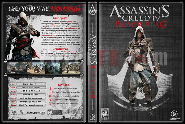 Assassin's Creed IV: Black Flag - Custom PC Cover - English [2013]-assassins-creed-iv-black-flagjpg