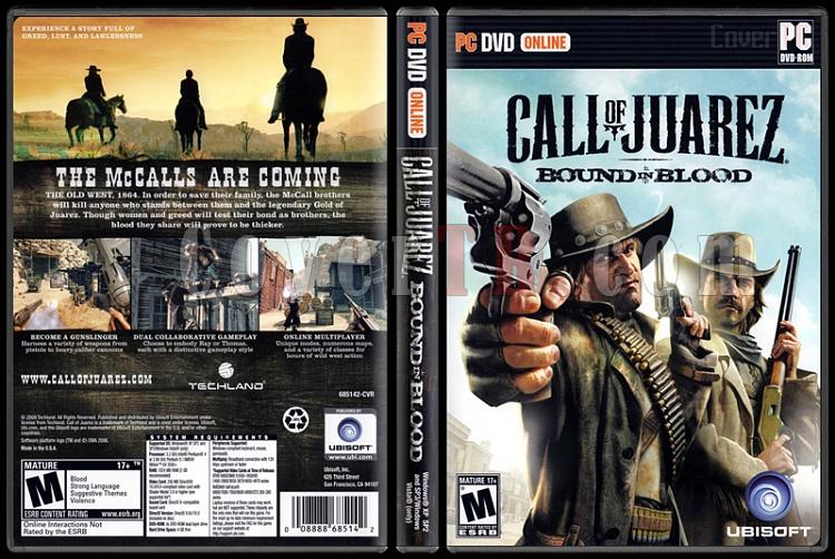 Call of Juarez: Bound In Blood - Scan PC Cover - English [2009]-call-juarez-bound-blood-scan-pc-coverjpg