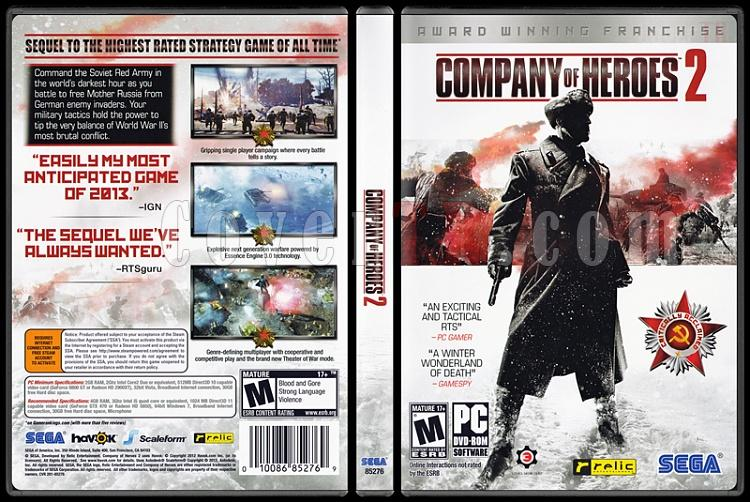 Company of Heroes 2 - Scan PC Cover - English [2013]-company-heroes-2jpg