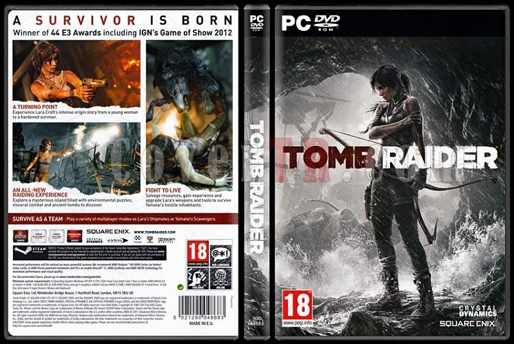 Tomb Raider - Scan PC Cover - English [2013]-tomb-raider-ctrjpg