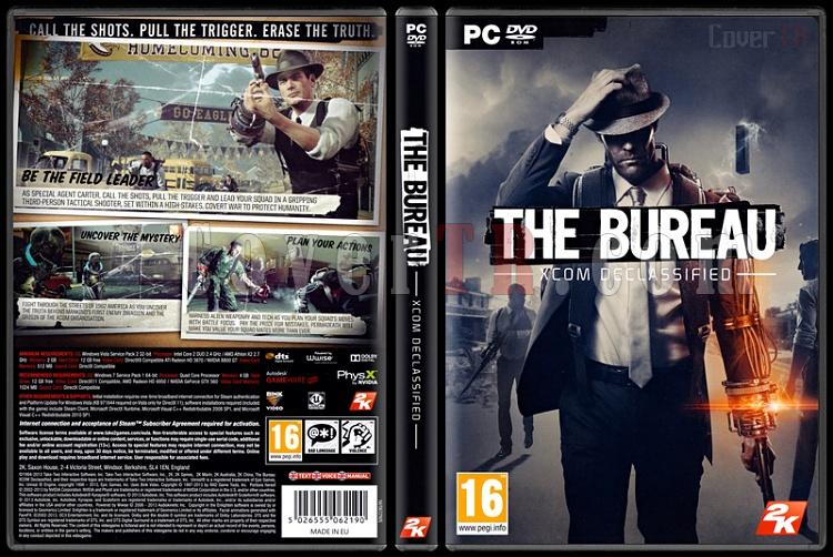 The Bureau: XCOM Declassified - Scan PC Cover - English [2013]-bureau-xcom-declassifiedjpg