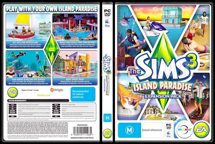 The Sims 3 Island Paradise - Scan PC Cover - English [2013]-sims-3-island-paradisejpg