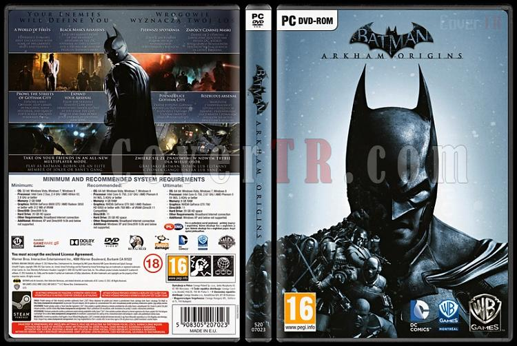 Batman: Arkham Origins - Scan PC Cover - English [2013]-batman-arkham-originsjpg