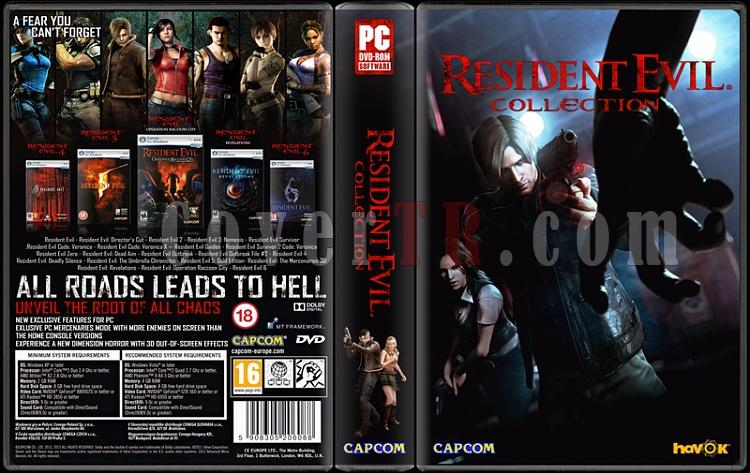 Resident Evil Collection - Custom PC Cover - English [1996-2013]-resident-eviljpg