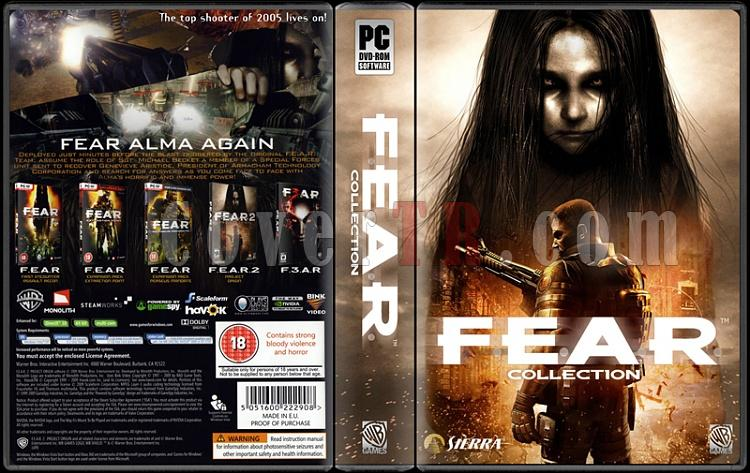 F.E.A.R. Collection - Custom PC Cover - English [2005]-fearjpg