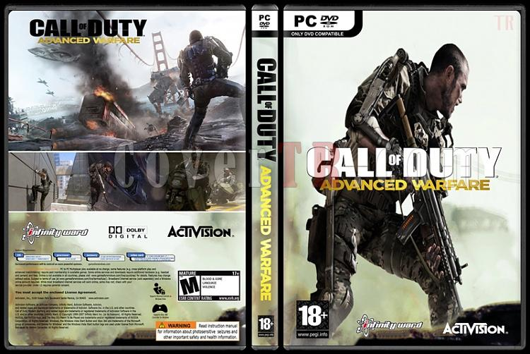 Call of Duty: Advanced Warfare - Custom PC Cover - English [2014]-ajpg