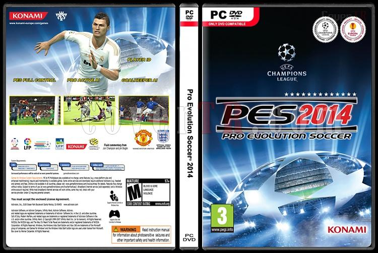 Pro Evolution Soccer 2014 - Custom PC Cover - English [2013]-standardjpg
