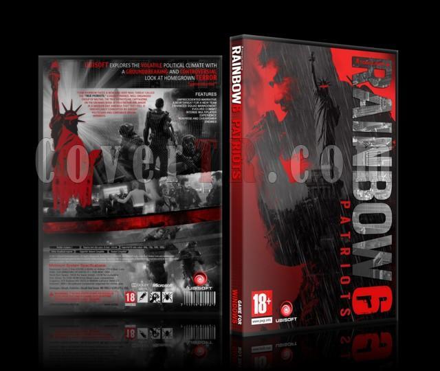 Rainbow 6-Patriots (Costum) DVD Cover-rainbow-6-patriotsjpg