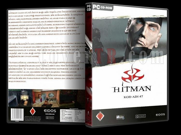 Hitman - DVD Cover Set Türkçe-11jpg