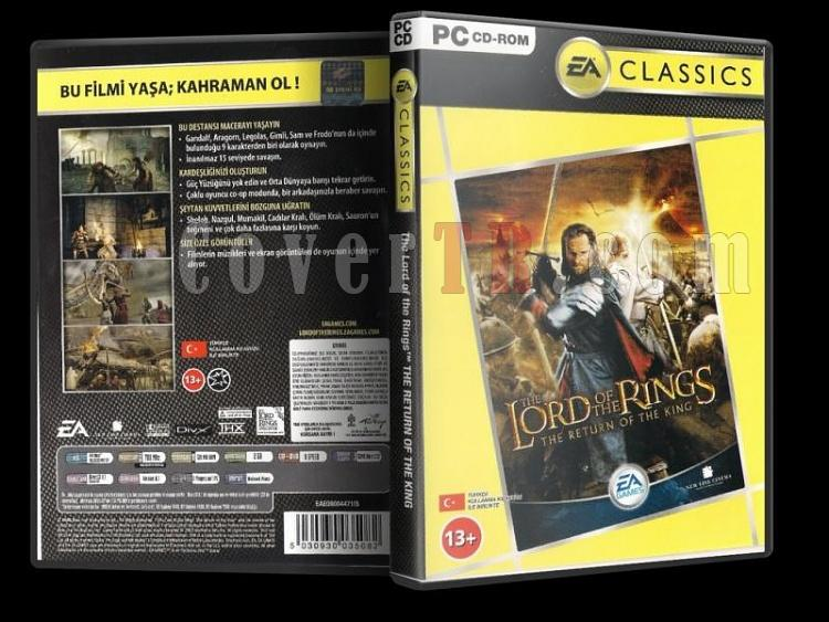 The Lord of the Rings: The Return of the King PC - DVD Cover Orjinal Türkçe-dsadasdjpg