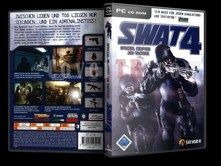 Swat 4 PC - DVD Cover Original-sdadasdjpg