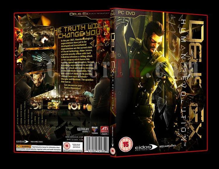 Deus Ex Human Revolution Pc Dvd Cover-1jpg