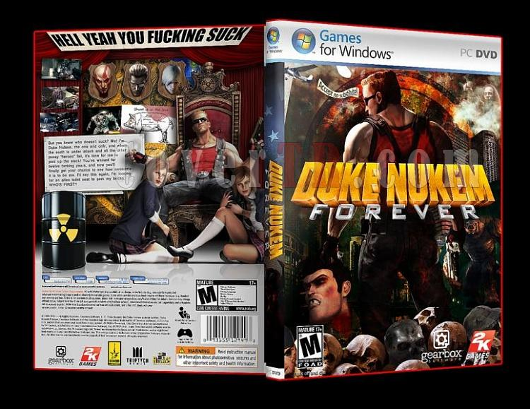 Duke Nukem Forever Pc Dvd Cover-2jpg