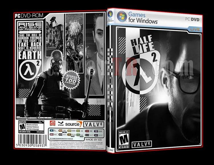 Half-Life 2 Pc Dvd Cover-3jpg