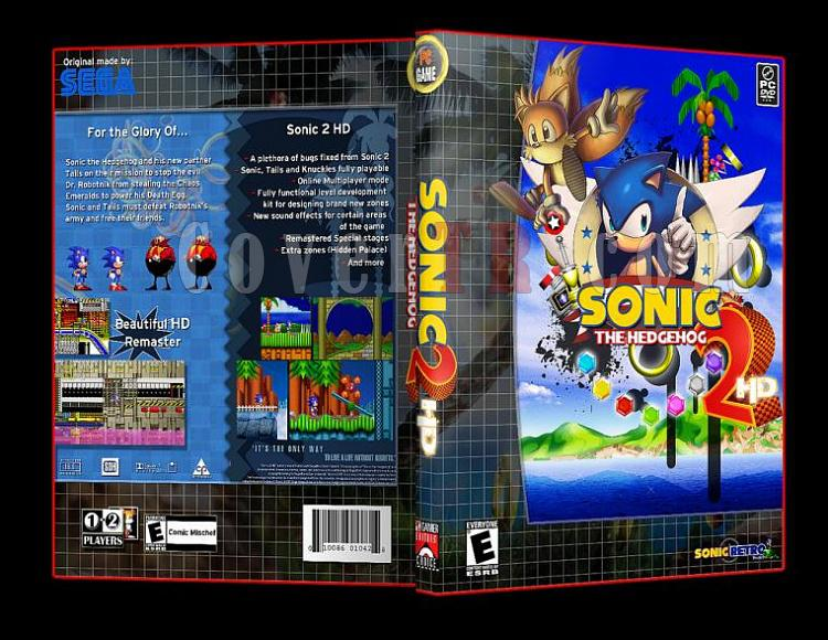 Sonic the Hedgehog 2 HD Pc Dvd Cover-8jpg