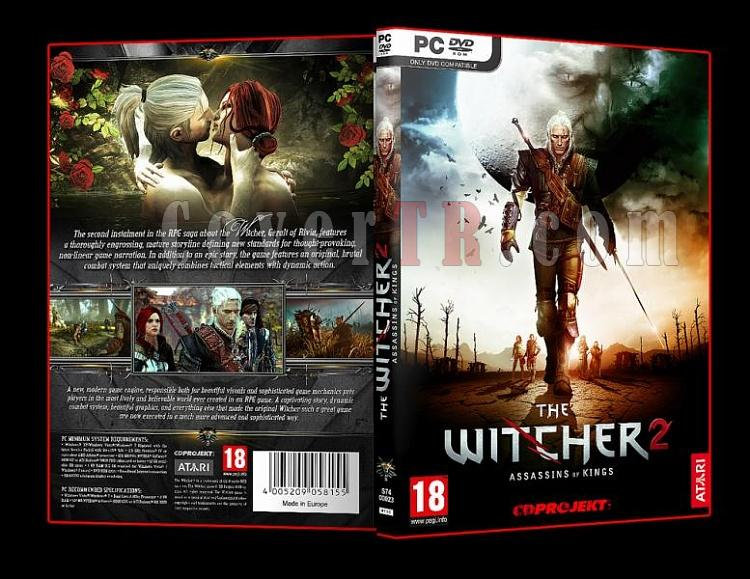 The Witcher 2 Assassins of Kings Pc Dvd Cover-9jpg