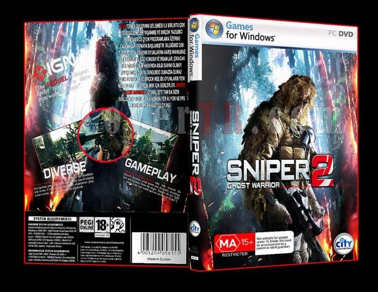 Sniper Ghost Warrior 2 Pc Dvd Cover-ajpg