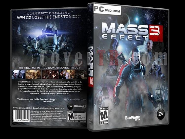 Mass Effect 3 Pc Dvd Cover 2012-massjpg