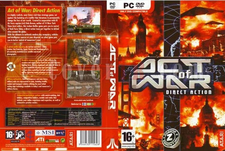 Act Of War Direct Action - PC Dvd Cover-act-war-direct-action-ortajpg