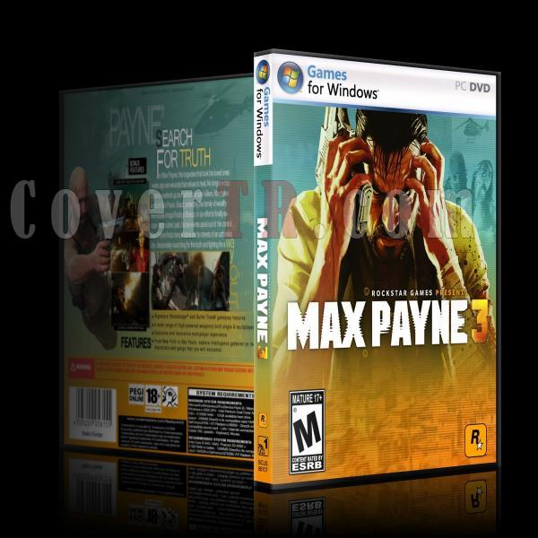 Max Payne 3 - Pc Dvd Cover-ajpg