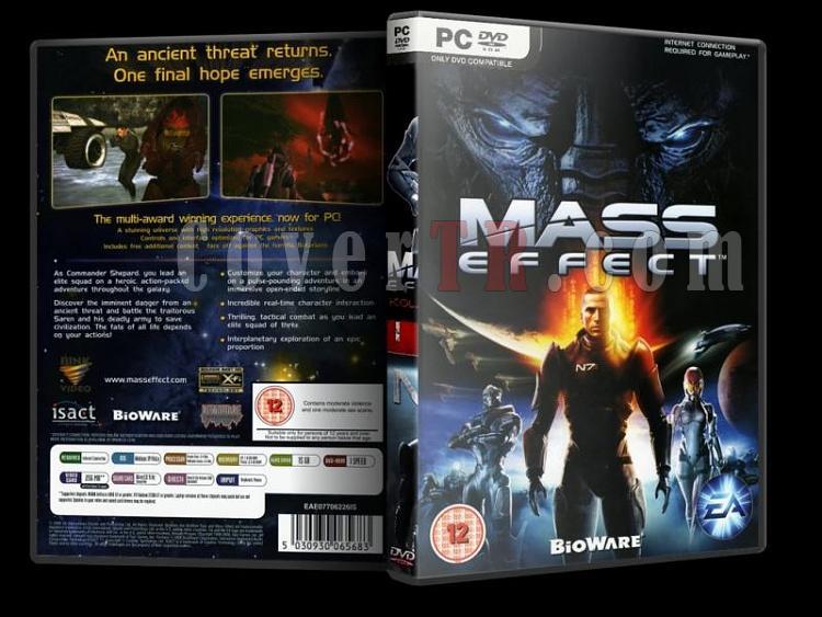 Mass Effect - Pc Dvd Cover Set-2jpg