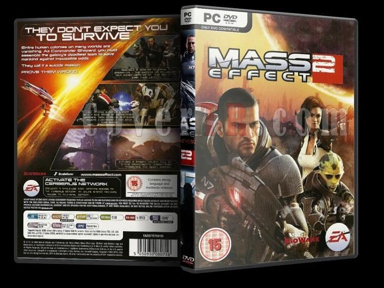 Mass Effect - Pc Dvd Cover Set-3jpg