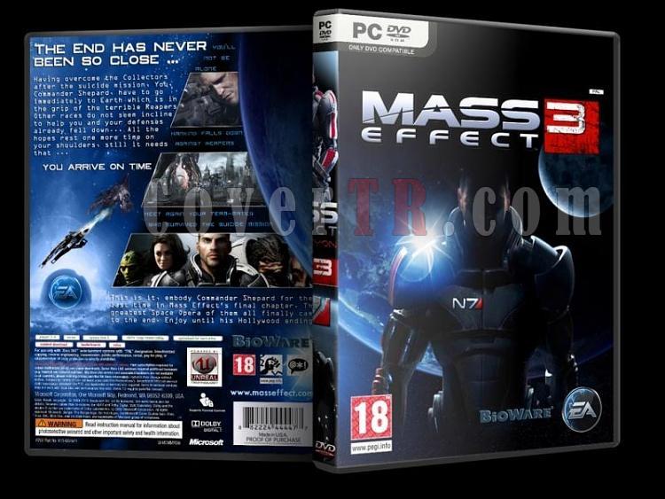 Mass Effect - Pc Dvd Cover Set-4jpg