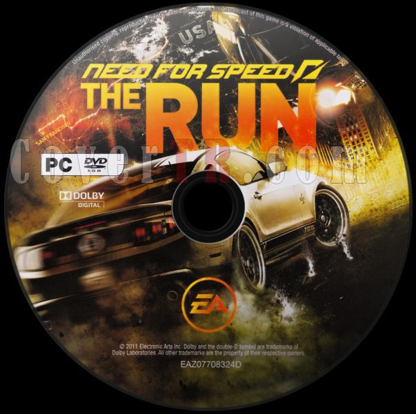 Need for Speed The Run - Scan PC Dvd Label - English [2011]-need_for_speed_the_run_dvd_labeljpg