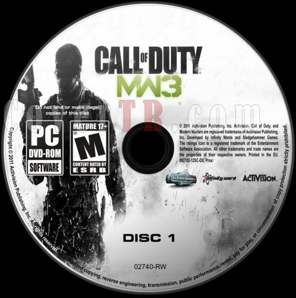 Call Of Duty Modern Warfare 3 - Scan PC Dvd Label - English [2011]-call_of_duty_modern_warfare_3_dvd_labeljpg