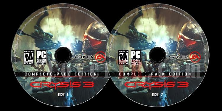 Crysis 3 (Complete Pack Edition) - Custom PC Label Set - English [2013]-onizlemejpg