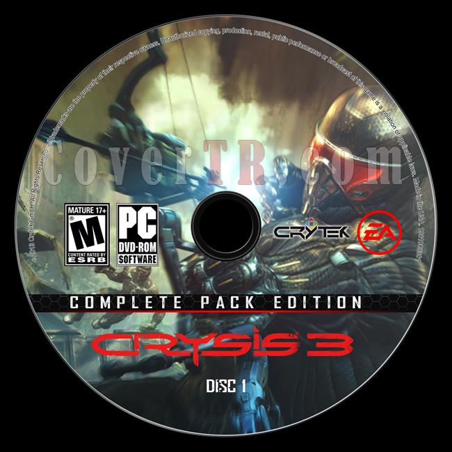 Crysis 3 (Complete Pack Edition) - Custom PC Label Set - English [2013]-onizleme-1jpg