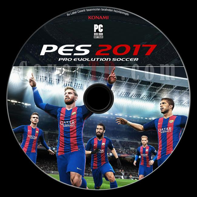 Pro Evolution Soccer 2017 (PES 2017) - Custom Pc Dvd Label - Türkçe [2017]-1jpg