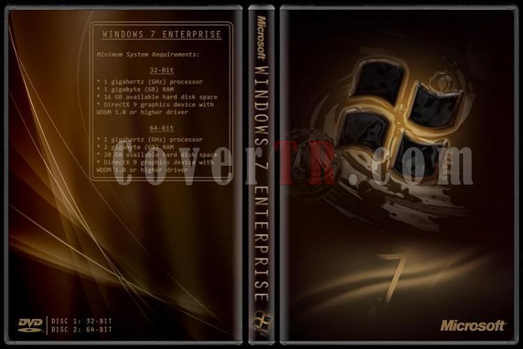 Windows 7 Enterprise - Custom Dvd Cover - English [2009]-previewjpg