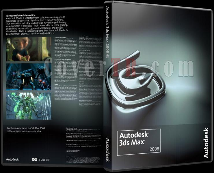 Autodesk 3ds Max 2008 - Custom Dvd Cover - English [2007]-autodesk_3ds_max_2008_dvd_coverjpg