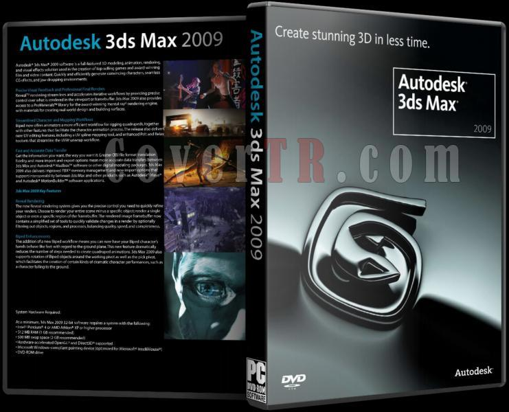 Autodesk 3ds Max 2009 - Custom Dvd Cover - English [2008]-autodesk_3ds_max_2009_dvd_coverjpg