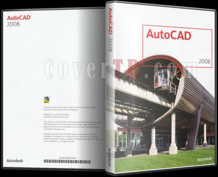 Autodesk AutoCAD 2008 - Custom Dvd Cover - English [2007]-autodesk_autocad_2008_dvd_coverjpg