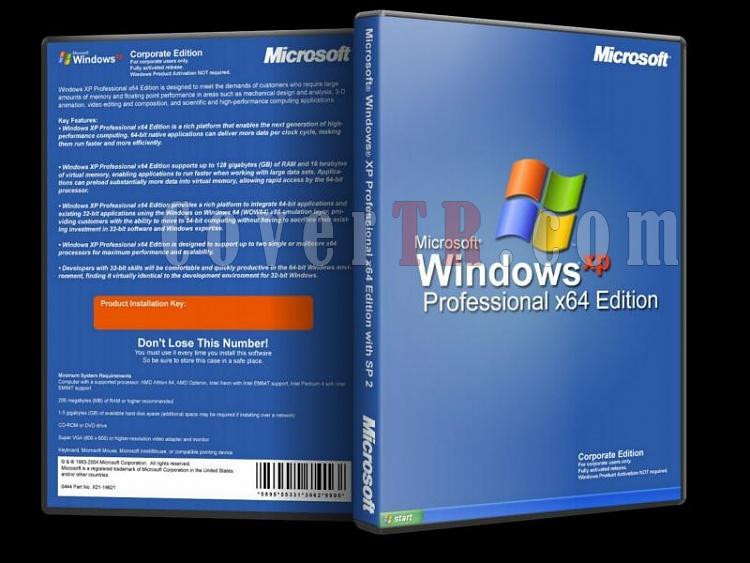 Microsoft Windows XP Professional x64 - Custom Dvd Cover - English [2001]-windows_xp_professional_x64jpg