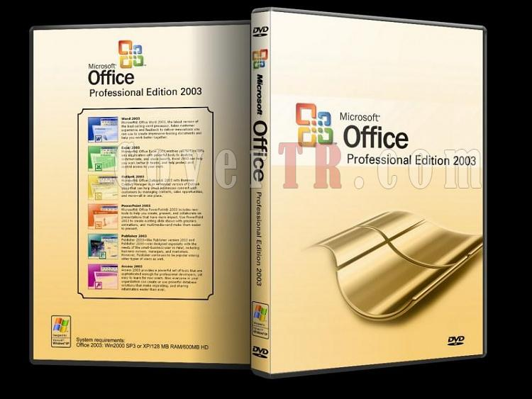 Microsoft Office 2003 Professional - Custom Dvd Cover - English [2003]-microsoft_office_2003_professionaljpg